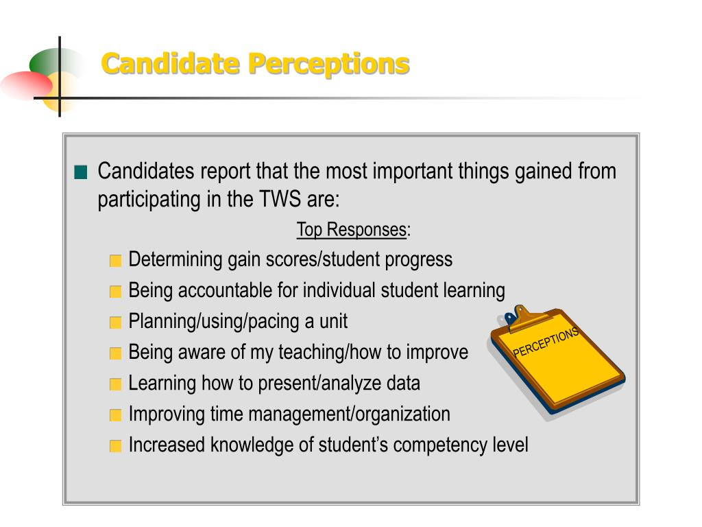 Candidate Perceptions