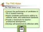 the tws vision