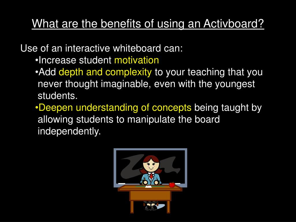 What are the benefits of using an Activboard?
