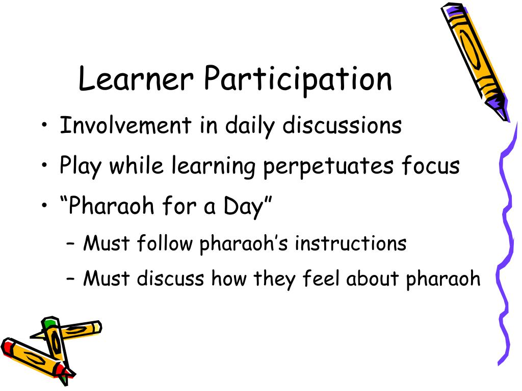 Learner Participation