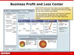 business profit and loss center
