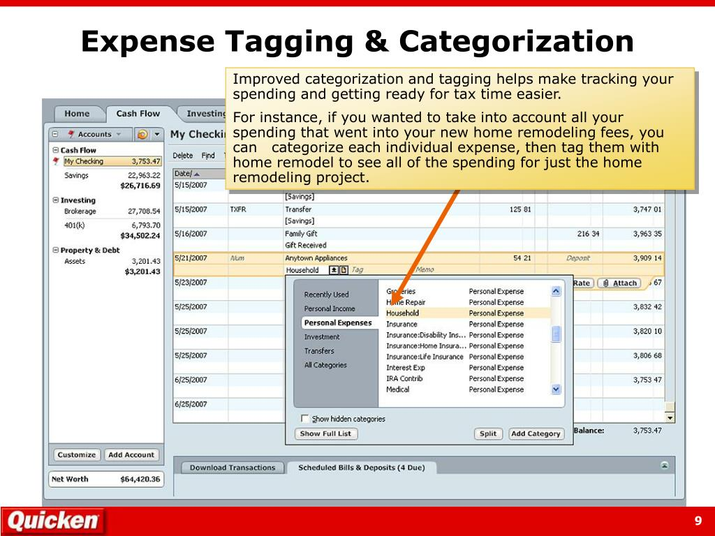 Expense Tagging & Categorization