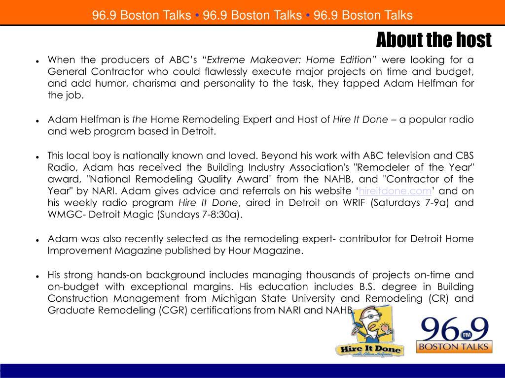 96.9 Boston Talks