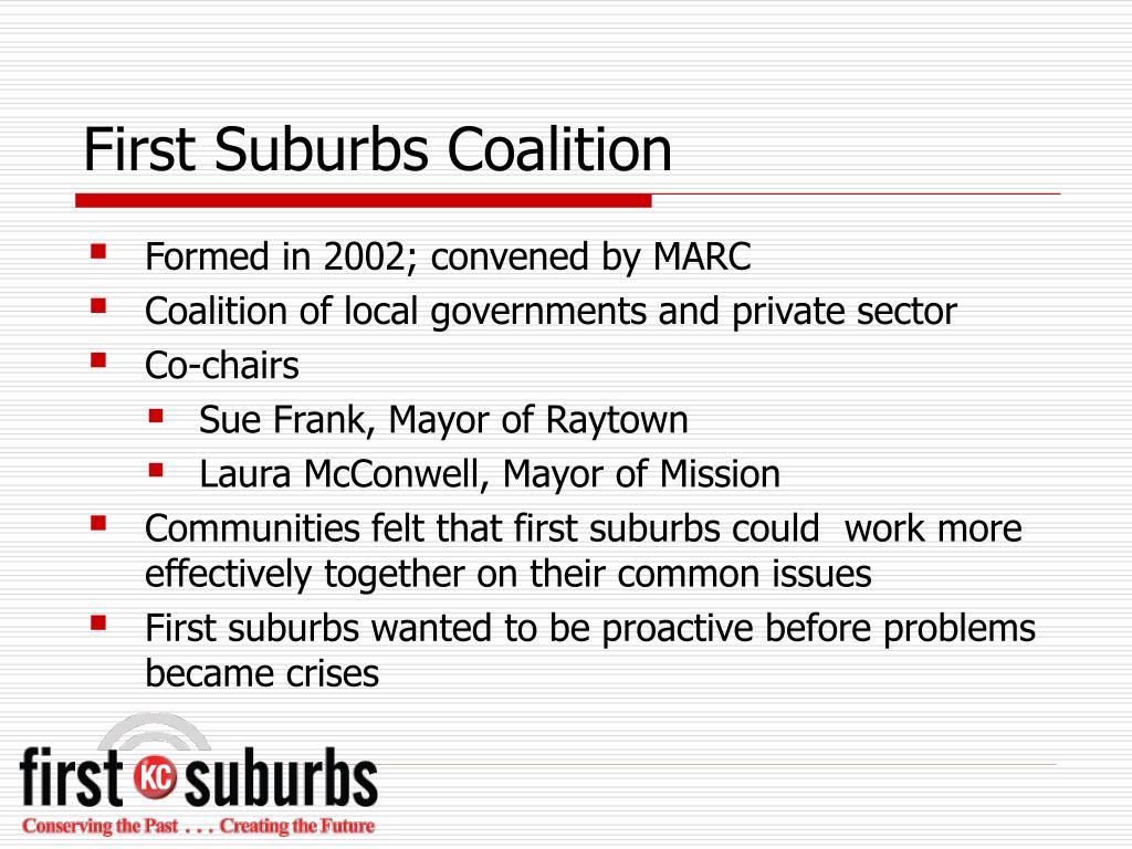 First Suburbs Coalition