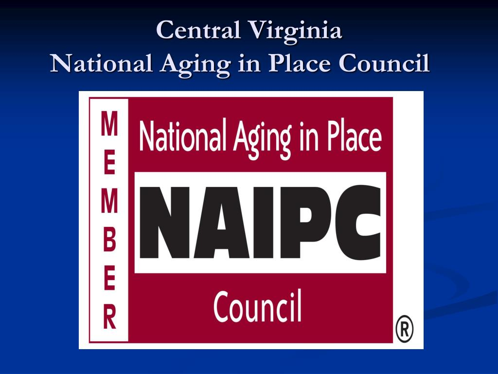 central virginia national aging in place council