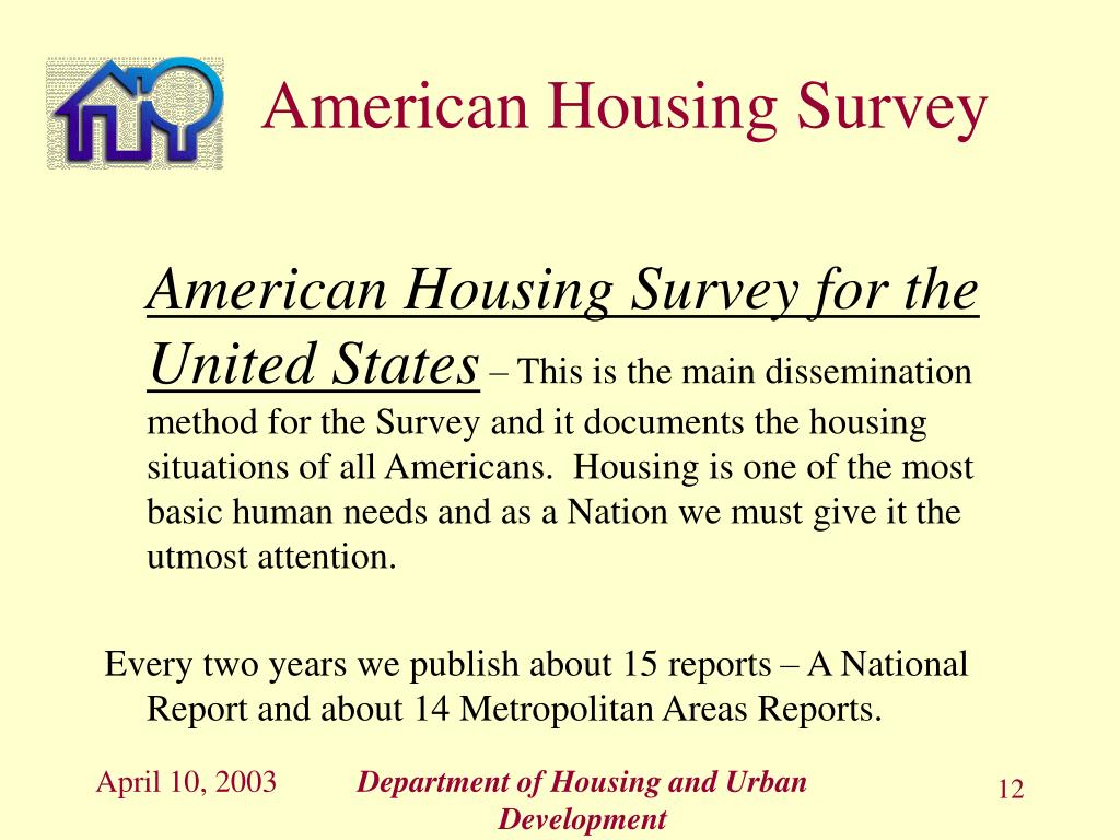 American Housing Survey for the United States