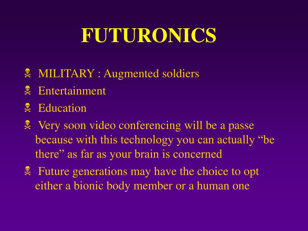 FUTURONICS