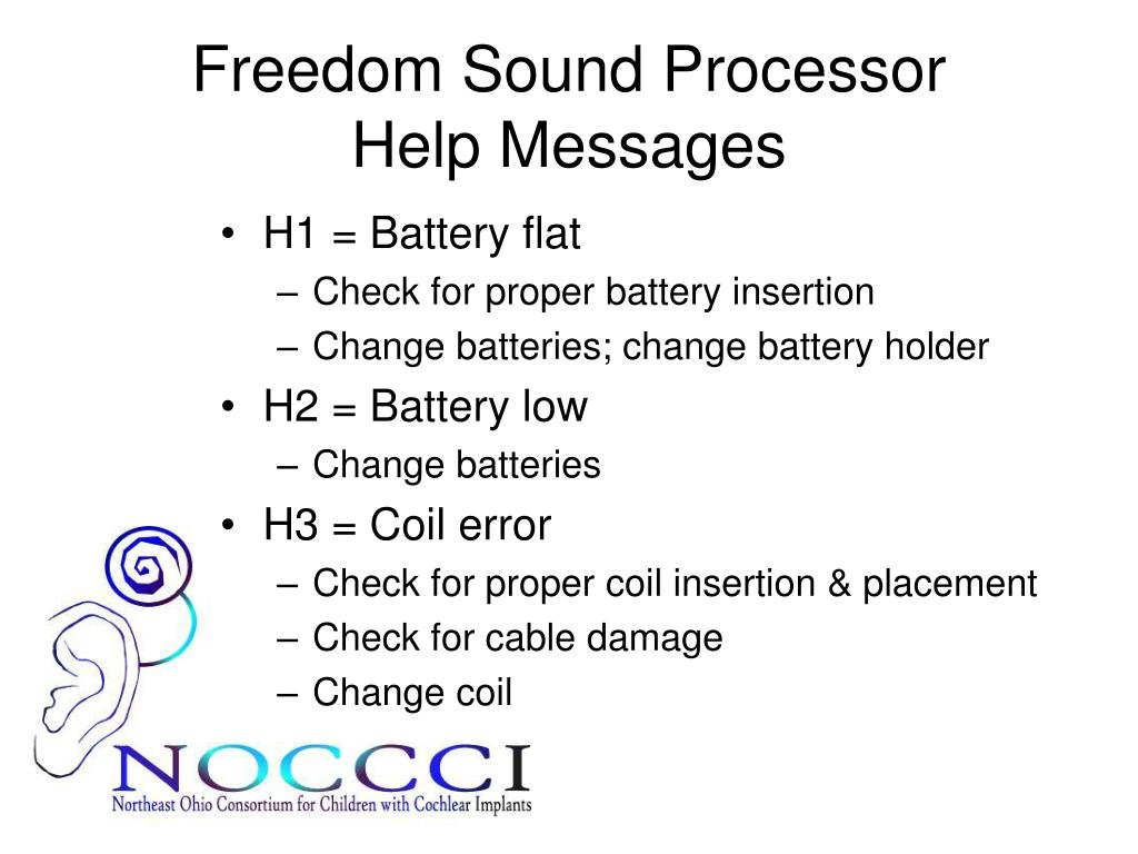 Freedom Sound Processor