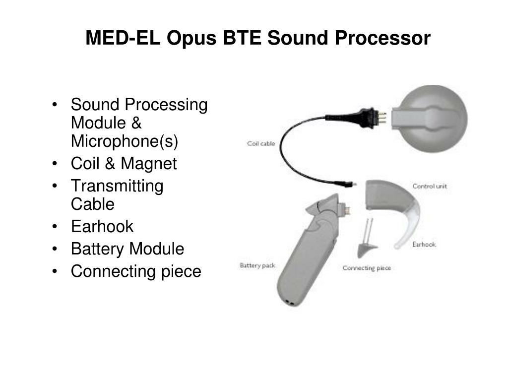 MED-EL Opus BTE Sound Processor