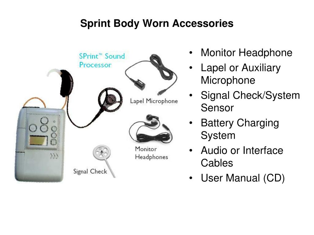 Sprint Body Worn Accessories