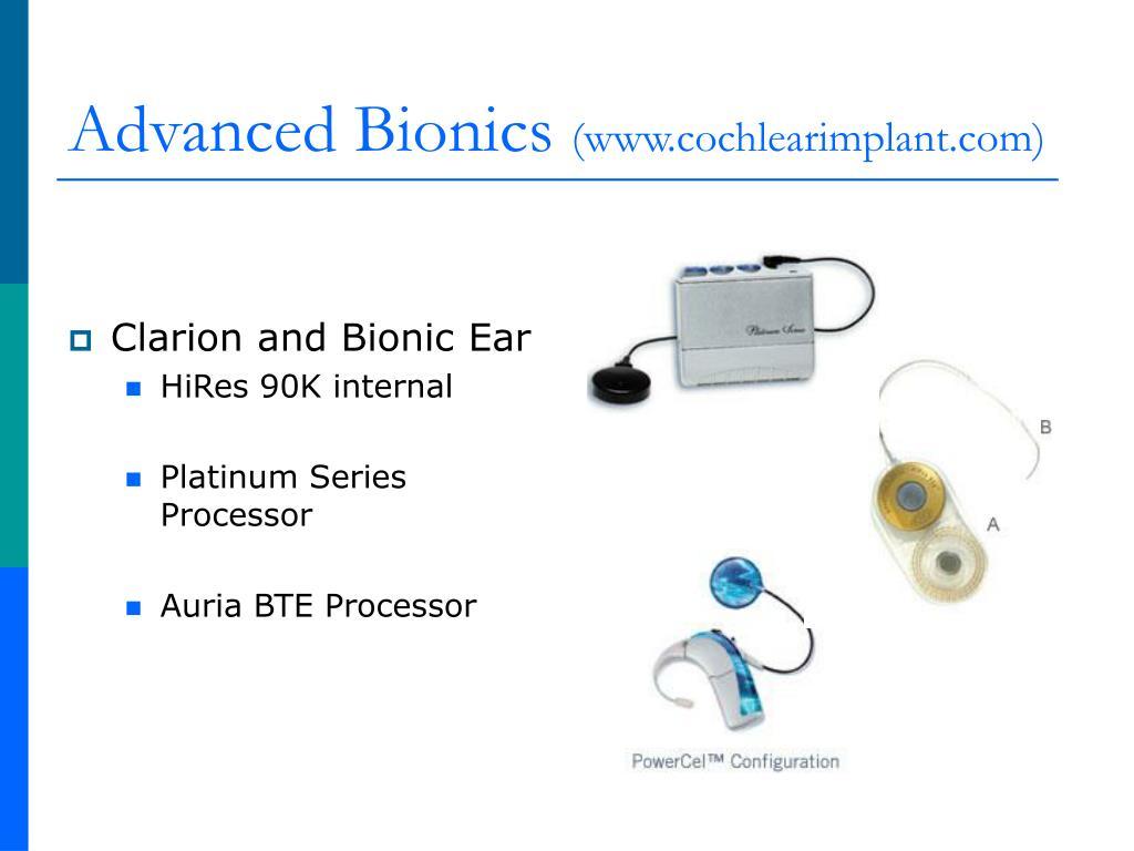 Advanced Bionics