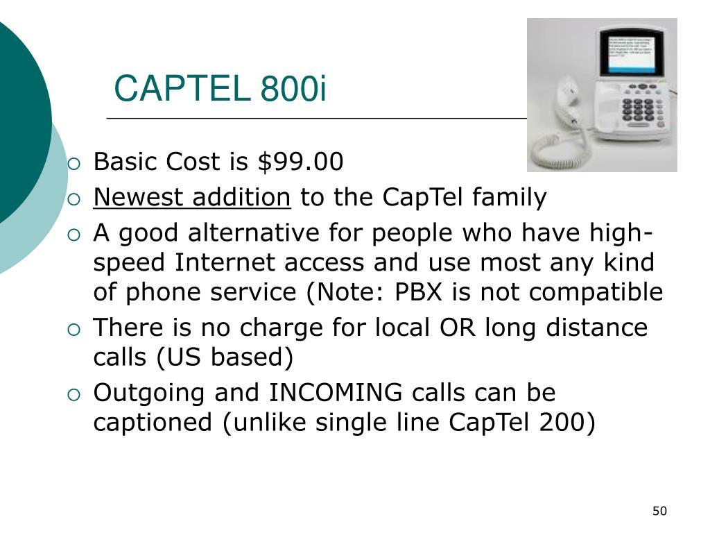 CAPTEL 800i