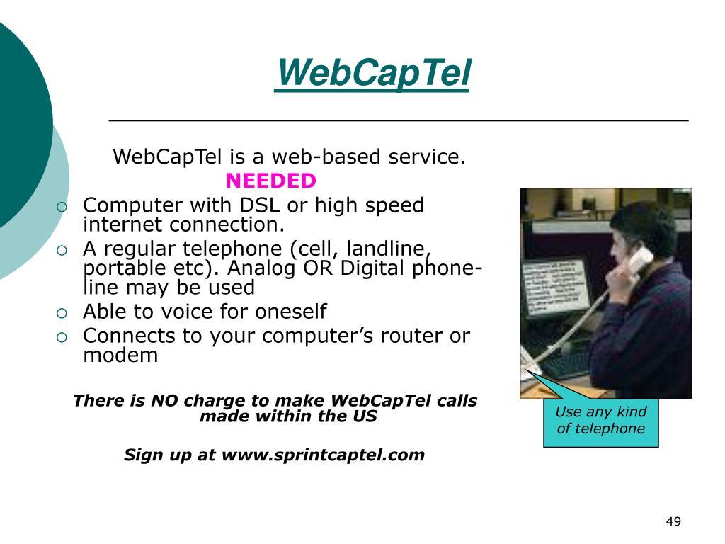 WebCapTel