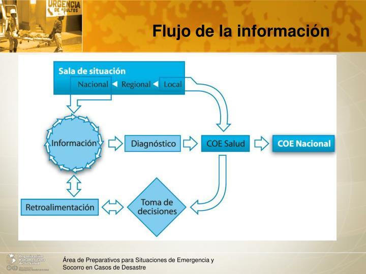 Flujo de la información
