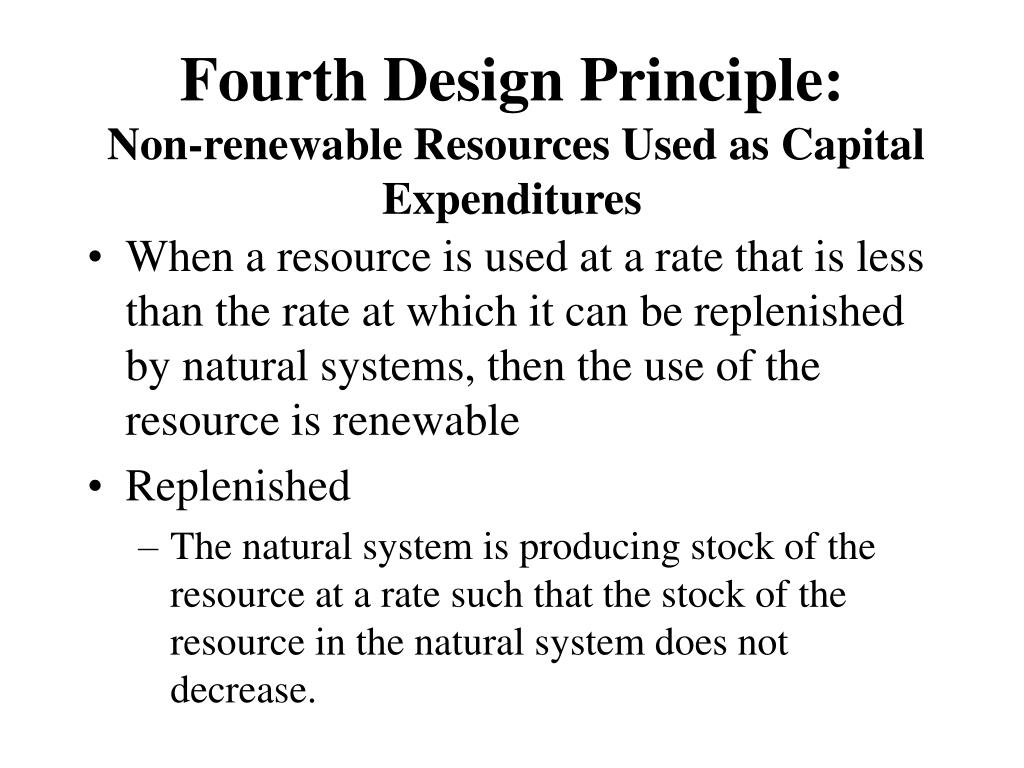 Fourth Design Principle: