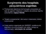 surgimento dos hospitais psiqui tricos esp ritas1