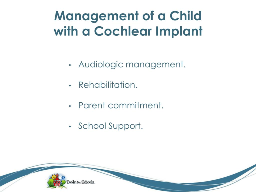 Management of a Child