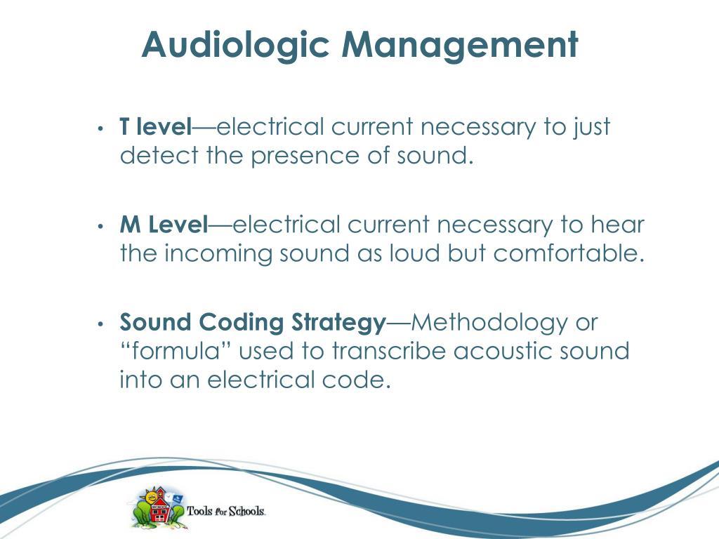 Audiologic Management