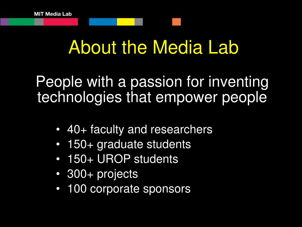 About the Media Lab