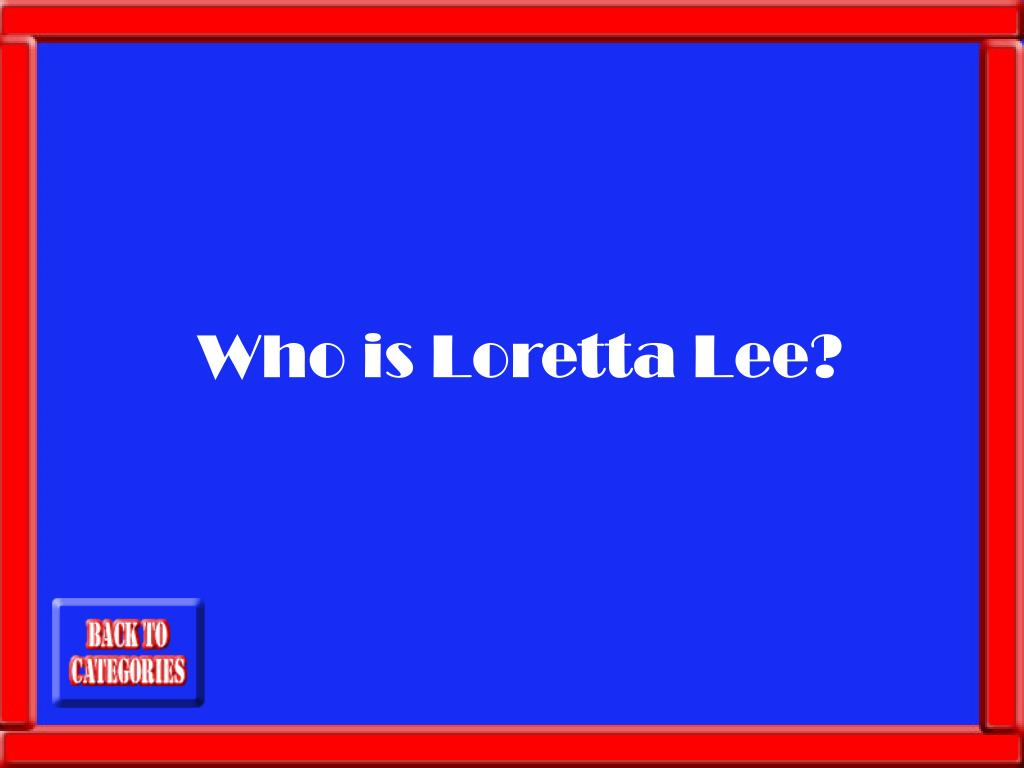 Who is Loretta Lee?