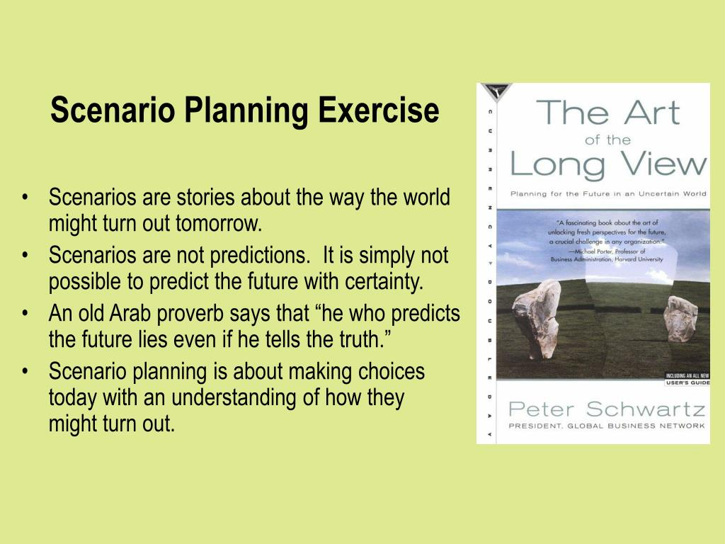 Scenario Planning Exercise