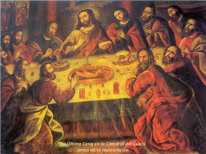 La Última Cena en la Catedral del Cusco