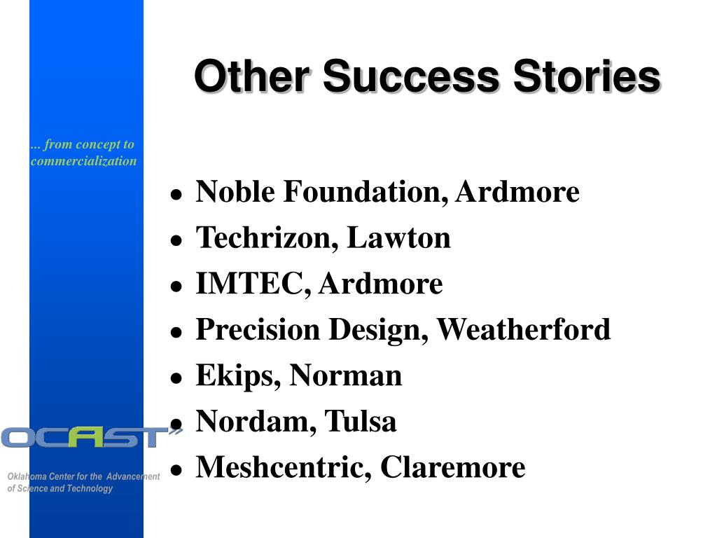 Other Success Stories