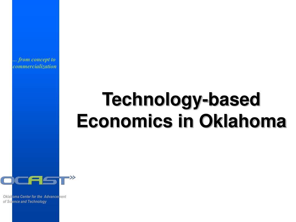 Technology-based Economics in Oklahoma