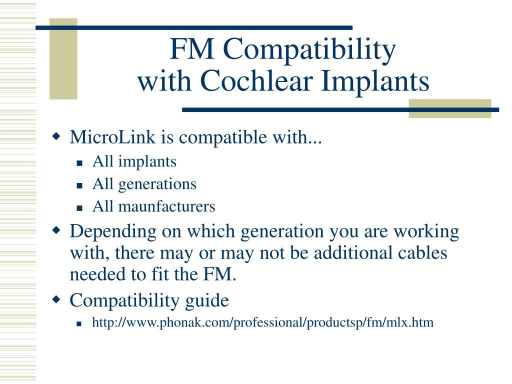 FM Compatibility