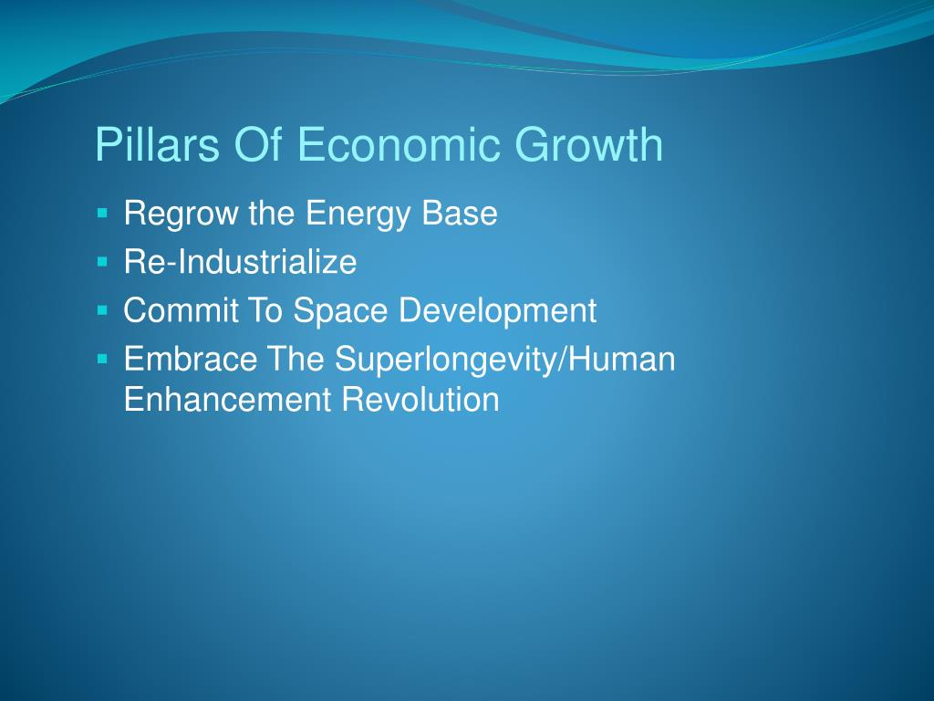 Pillars Of Economic Growth