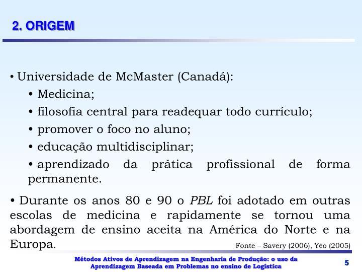 2. ORIGEM