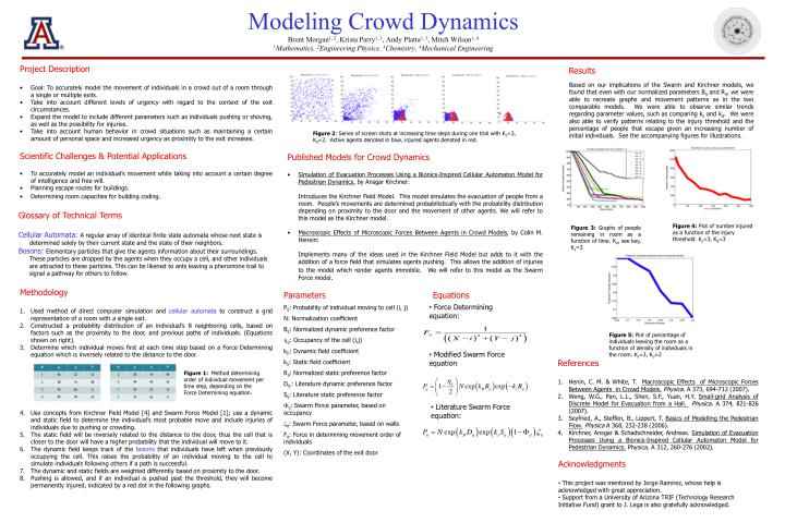 Modeling Crowd Dynamics