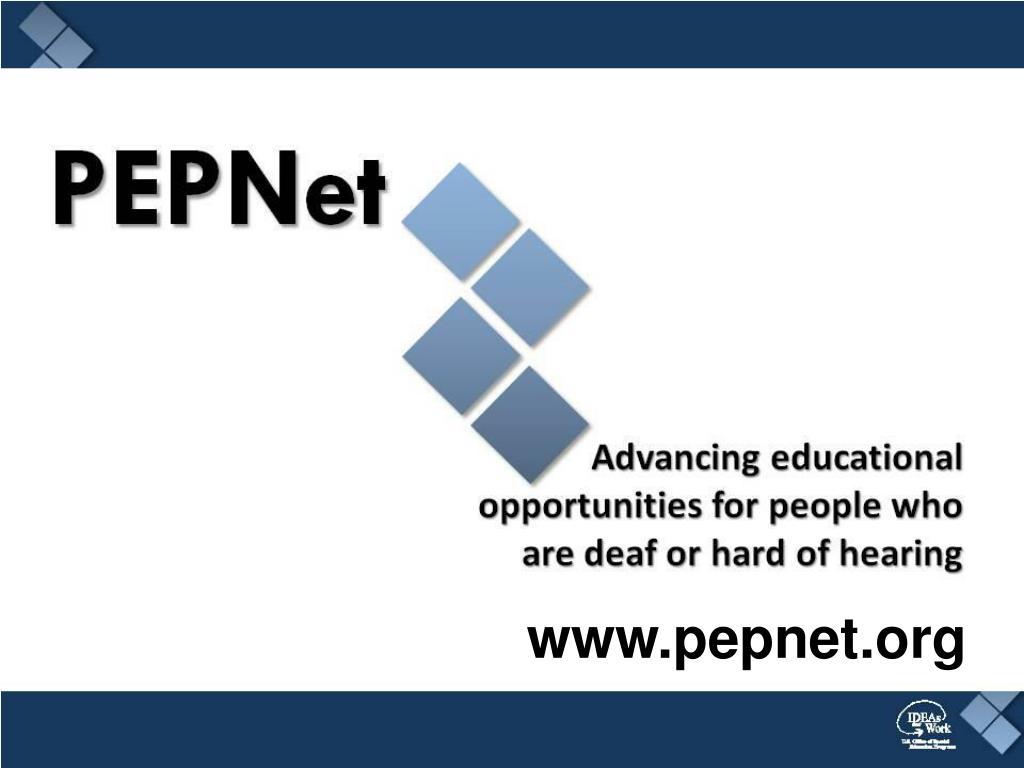 www.pepnet.org