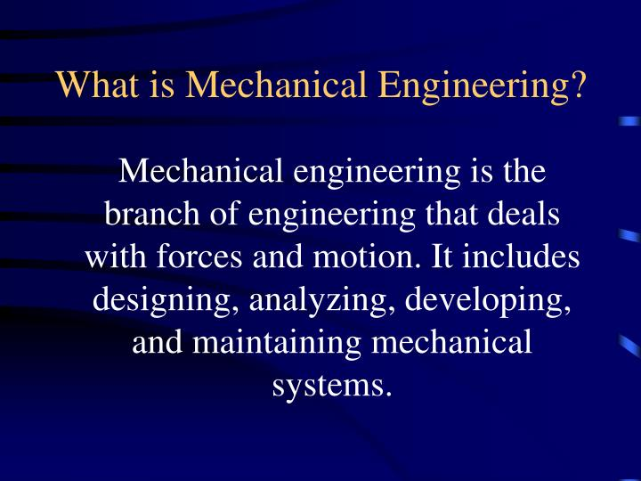 What is mechanical engineering l.jpg