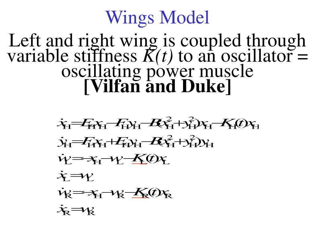 Wings Model