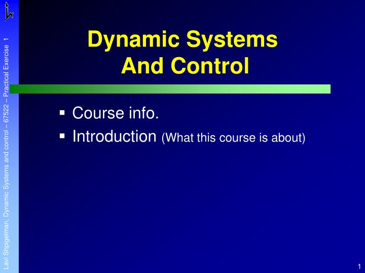 Dynamic systems and control l.jpg