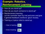 example robotics reinforcement learning