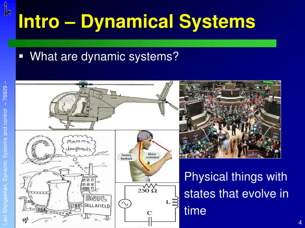 Intro – Dynamical Systems