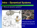 intro dynamical systems