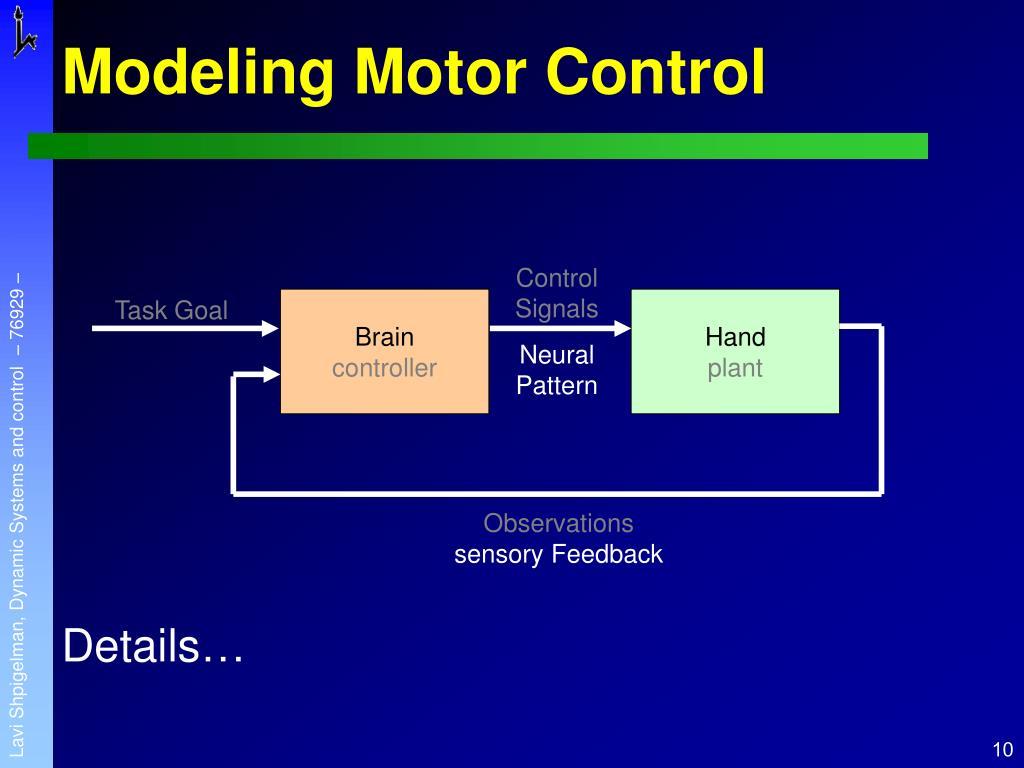 Control Signals