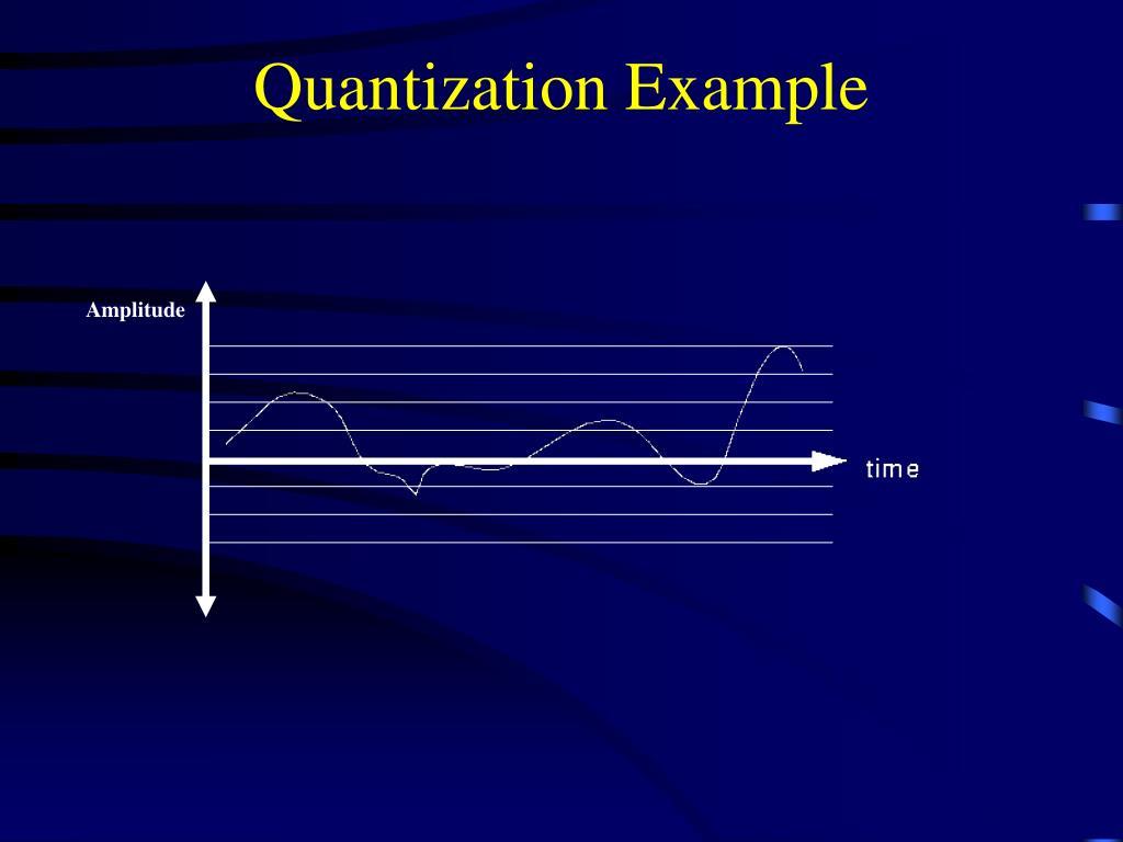 Quantization Example