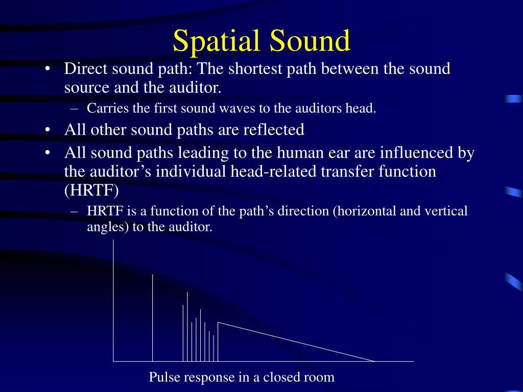 Spatial Sound