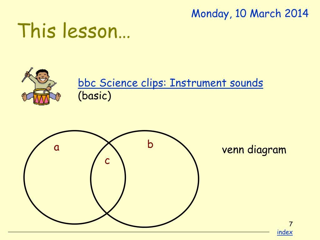 This lesson…