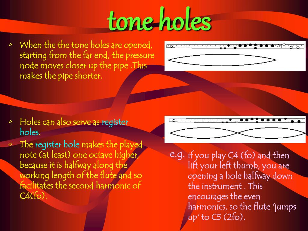 tone holes