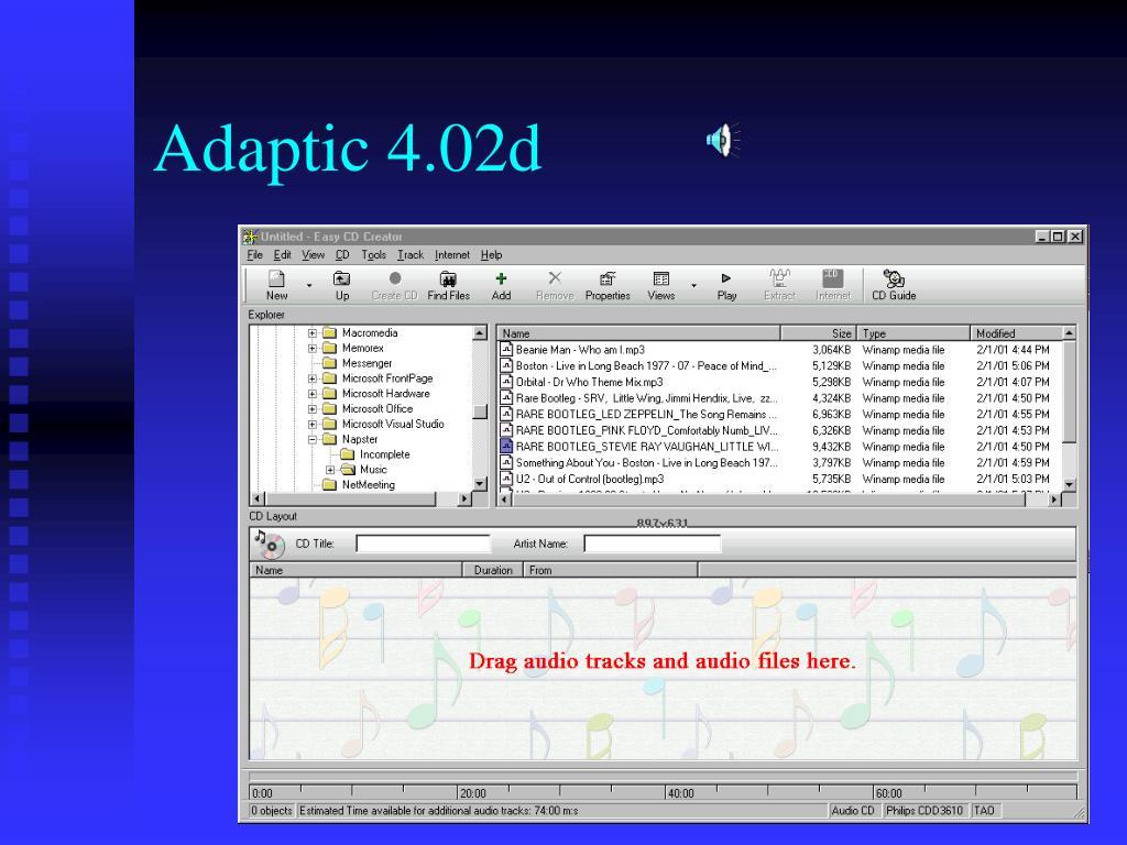 Adaptic 4.02d