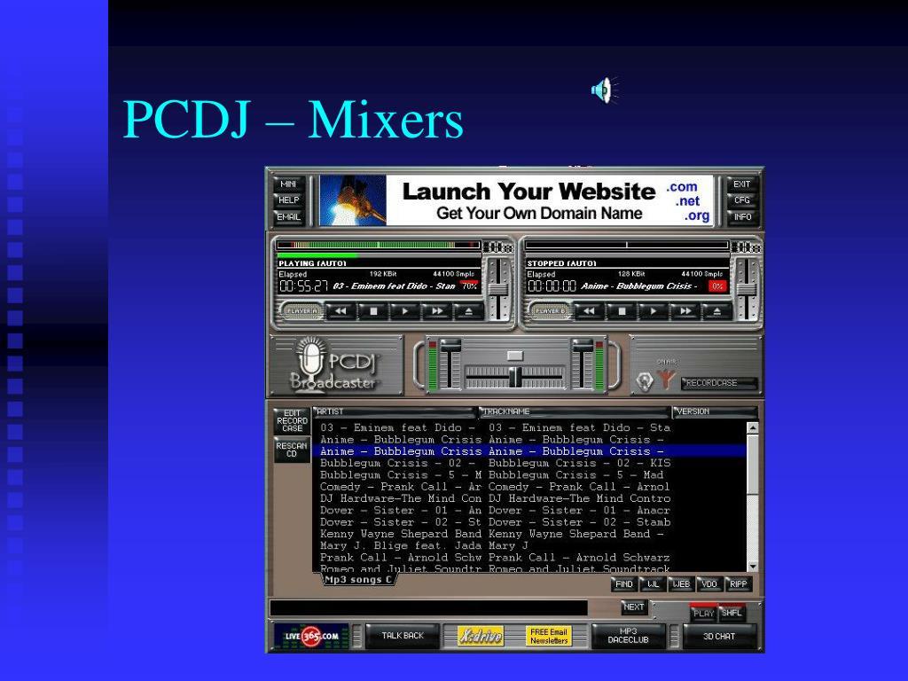 PCDJ – Mixers