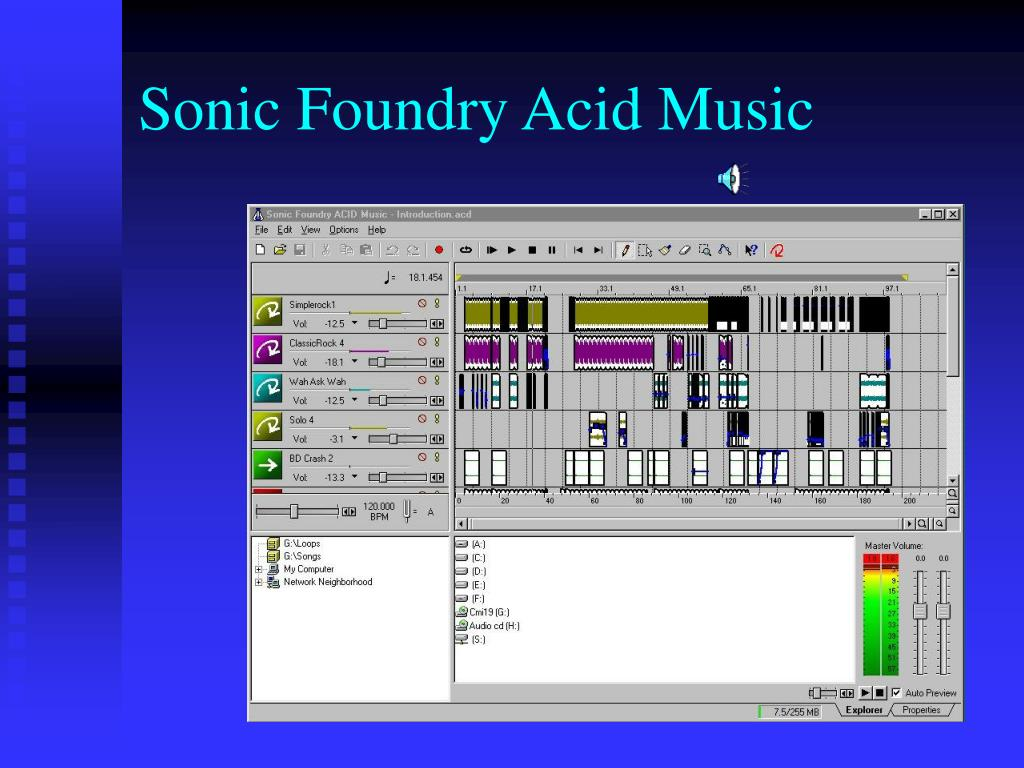 Sonic Foundry Acid Music