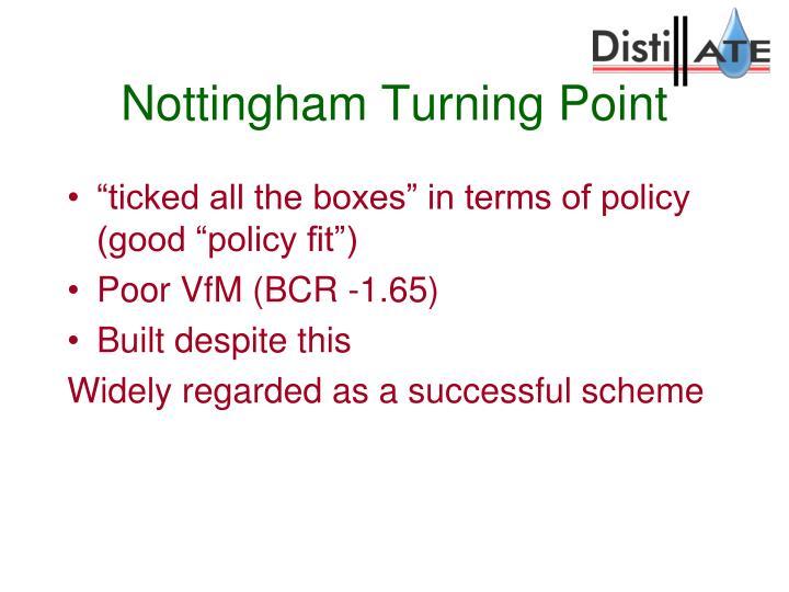 Nottingham Turning Point