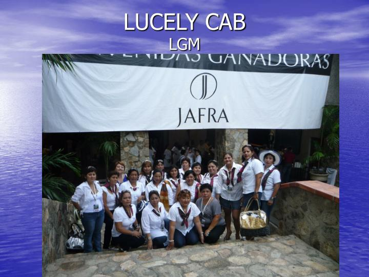 LUCELY CAB