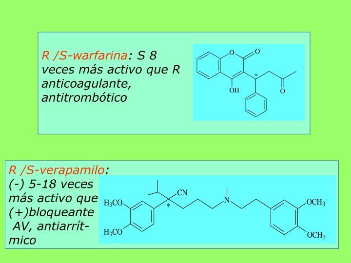 R /S-warfarina